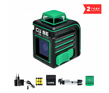 Уровень лазерный ADA Cube 360 GREEN Professional Edition А00568